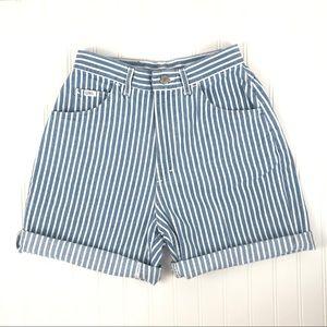 Vintage Super High Waisted Lee Denim Shorts